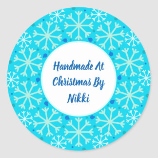 Handmade no Natal por etiquetas