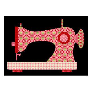 """""""Handmade"""" Sewing/costureira/artesanato - SRF Cartão De Visita Grande"""