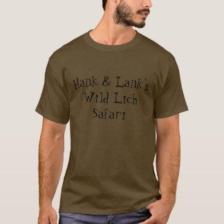 Hank & safari selvagem Lank de Lich Camiseta