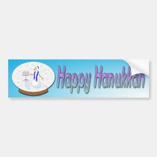 Hanukkah - autocolante no vidro traseiro do boneco adesivos