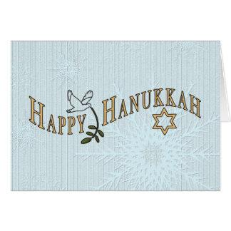 Hanukkah Cartão-Adiciona para possuir para dentro Cartão Comemorativo
