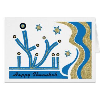 Hanukkah/cartão de Chanukah com envelope Cartão Comemorativo