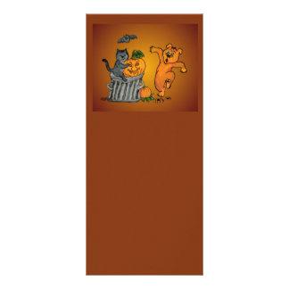 Happy dia das bruxas! 5 10.16 x 22.86cm panfleto