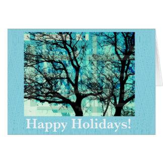 Happy Holidays Cartão Comemorativo