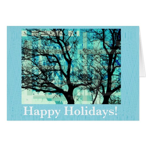 Happy Holidays Cartões