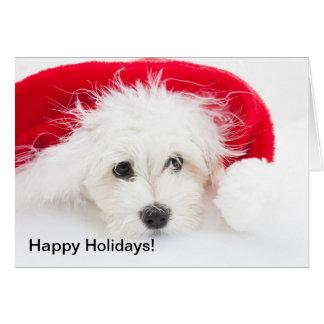 Happy Holidays! Cartão Comemorativo