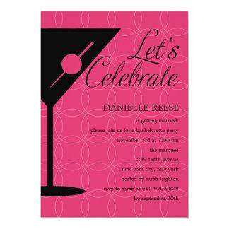 Happy hour Bachelorette/chá de panela Convites Personalizado