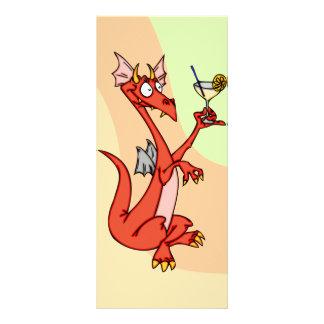 Happy hour do dragão 10.16 x 22.86cm panfleto