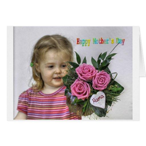 Happy Mothers Day Card Cartões