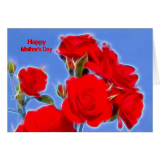 happy mothers day card moderno conversas roses