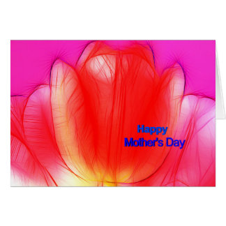 happy mothers day card moderno tulips