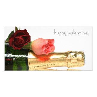 happy valentine cartoes com foto