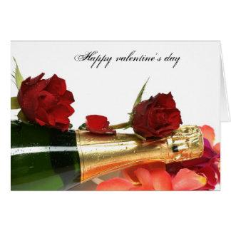 Happy valentine' s day cartão comemorativo