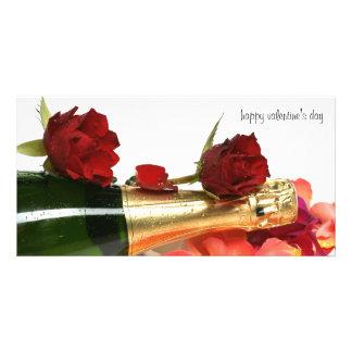 happy valentine' s day cartão com foto