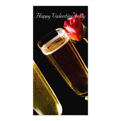 Happy Valentine' s day Cartao Com Fotos