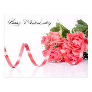 Happy Valentine' s day Cartão Postal