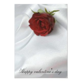 Happy valentine' s day convite 12.7 x 17.78cm