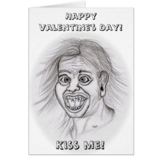 Happy Valentine's Day! - Kiss me! Cartões