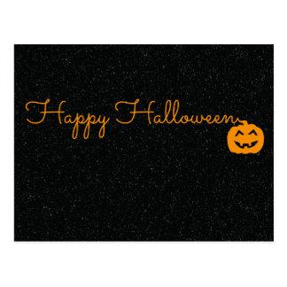Happyhalloween Cartão Postal