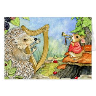 Harcourt o cartão do ouriço