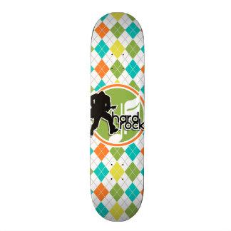 Hard rock; Teste padrão colorido de Argyle Skates