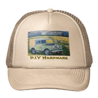 Hardware do D.I.Y: Chapéu dos camionistas Boné