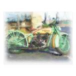 Harley 1929 cartao postal