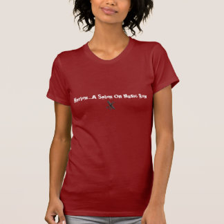 Harlow… um salão de beleza no T da fileira da Camisetas