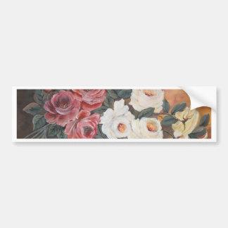 Harmonia de Rosas - óleo - 40x60 Adesivo Para Carro