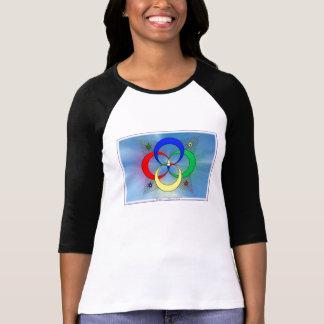 harmonia do logotipo camiseta