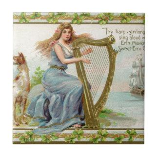 Harpa & senhora originais do dia de patrick de