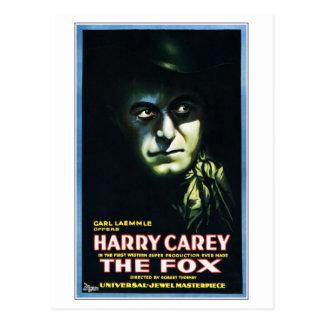 """Harry Carey """"no cartão do Fox"""""""