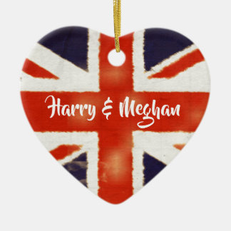 Harry e ornamento BRITÂNICO Wedding real da