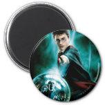Harry Potter e Voldemort somente um podem sobreviv Imã De Refrigerador