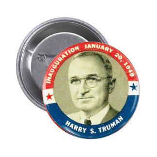Harry Truman - botão Bóton Redondo 5.08cm