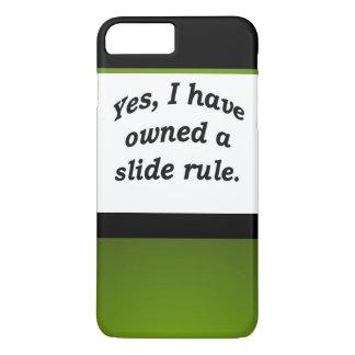 HASTE Nerdy da regra de corrediça do pai do geek Capa iPhone 7 Plus