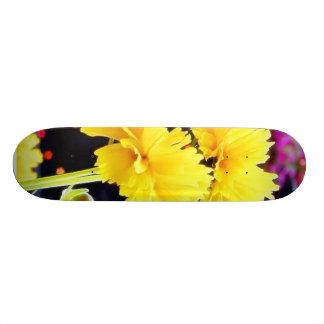 Hastes das flores em botão shape de skate 19,7cm