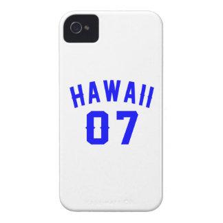 Havaí 07 designs do aniversário capa para iPhone 4 Case-Mate