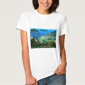 Havaí Breezes vale Kauai de Kalalau (St.K.) Camiseta