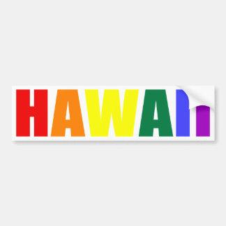 HAVAÍ em cores do arco-íris Adesivo Para Carro