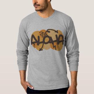 Havaiano - Aloha estilo dos grafites T-shirts