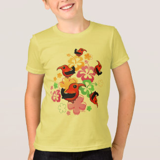 Havaiano-estilo 'I'iwi Camisetas