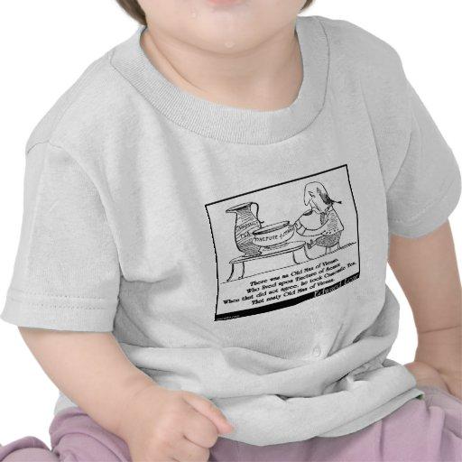 Havia um ancião de Viena Camisetas