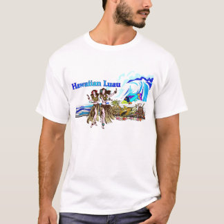 Hawaiin Luau Camiseta