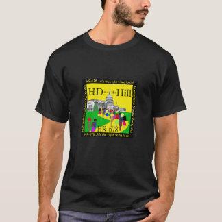 HD na camisa do monte