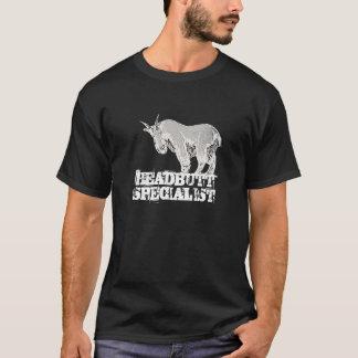 Headbutt a camisa da cabra de montanha do