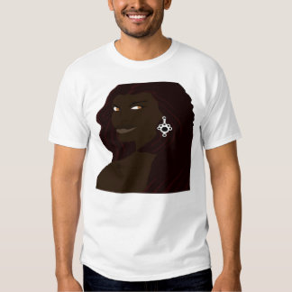Headshot 2 de Dreadlock (bloco de desenho pro) Camiseta