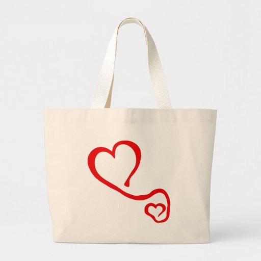 heart-grafit-2 bolsa de lona