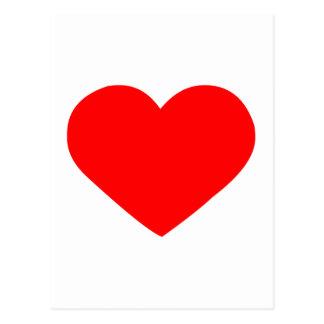 heart-red png cartao postal