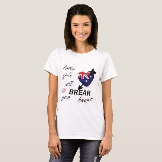 Heartbreaker australiano camiseta
